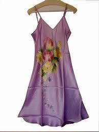 Buy Hand Painted Dress