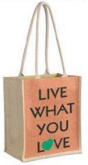 Large Jute Shopping Bag
