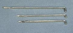 Book sewing needle