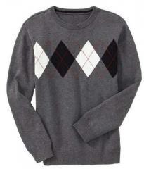 Boys Acrylic Full Sleeve Sweater