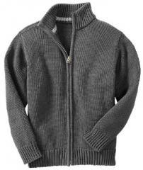 Boys Zipper Sweater