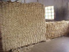 The Raw Jute in Bales